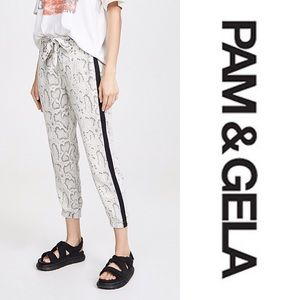 Pam & Gela Snakeprint Pants